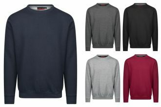 Cappuccino-Sweaters-ronde-hals
